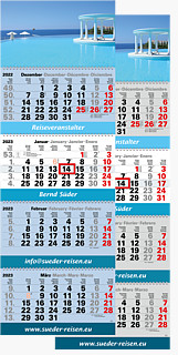"4-Monatskalender ""Plus Eins Post"" P 1PW"