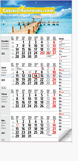 "4-Monatskalender ""KOMBIPLAN 4"" M4 KPN"