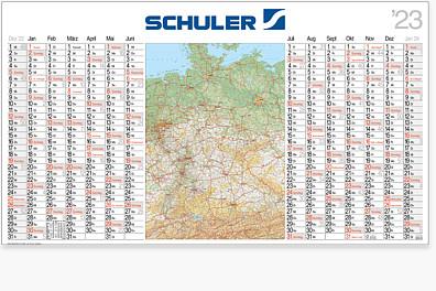 "Landkartenkalender ""Atlant"""