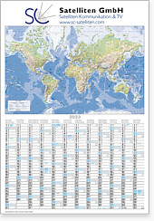 "Plakatkalender ""Globus international"""