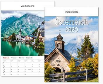 Bildkalender im Kleinformat BKW AT