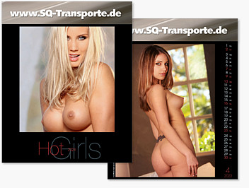 "Bildkalender ""HOT GIRLS"" BK W32G"