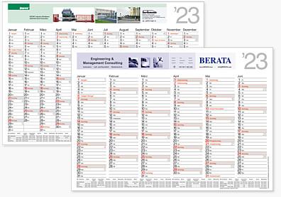 "Tafelkalender ""Orga"" TAF A4"