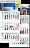 "Monatskalender ""Optimal 3 Basic"" A 63K"