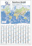 "Plakatkalender ""Globus international"" MW 12i"