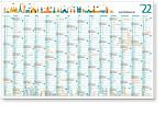 "Plakatkalender 4cEasyFlex ""Novum L"" EF14L"